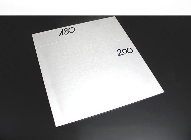 Universal ALUMINIUM-Platte, 180x200x2,0mm