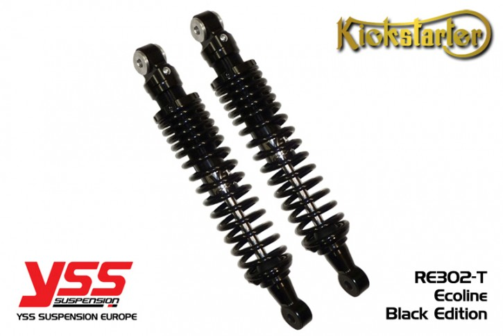 2 YSS-Shocks RE302, 270-420mm, full black