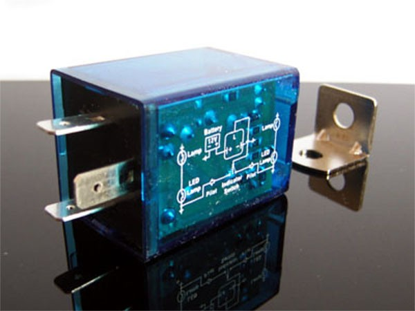 Elektron. RELAIS speziell f.LED-Blinker