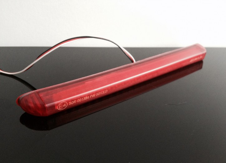"LED-Rücklicht ""String"" rot, flexibel, E-geprüft"