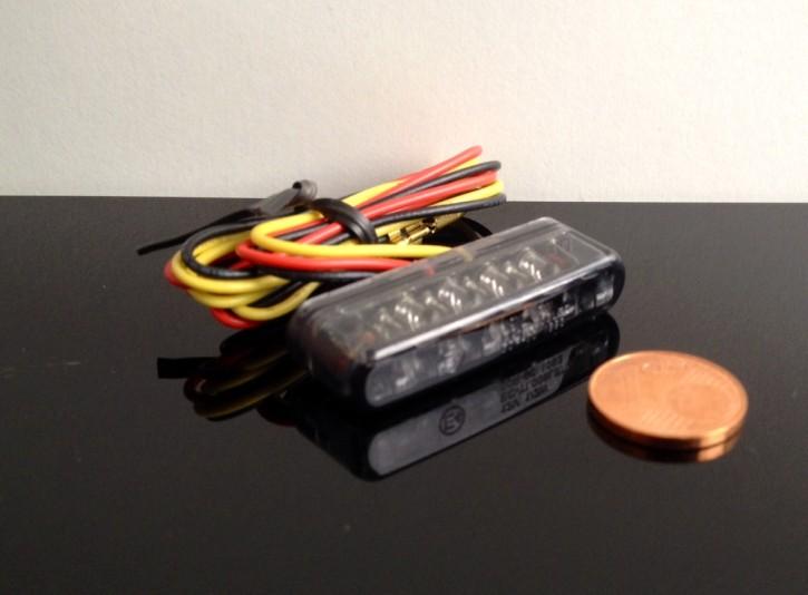 Micro-LED Rücklicht/Taillight Streifen, getönt, e-geprüft