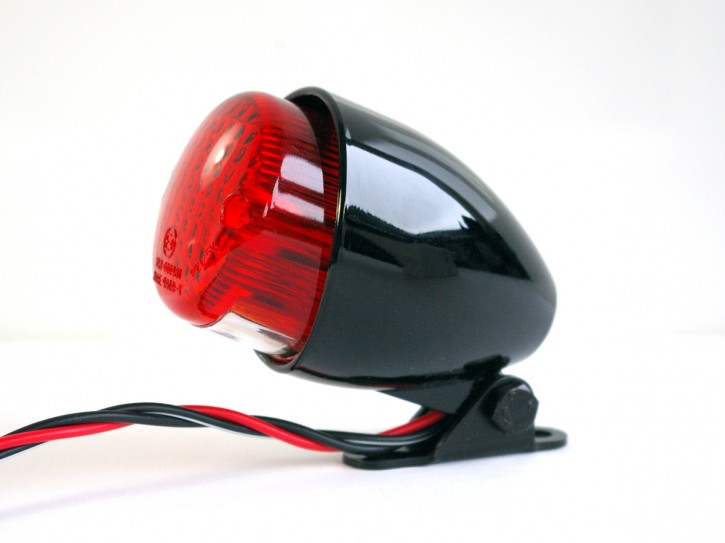 Mini-Taillight Texas, homologated, black