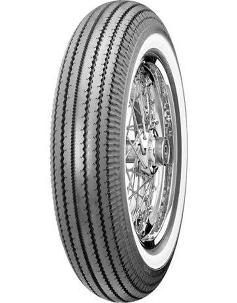 "SHINKO oldschool whitewall TYRE E-270 WW, 4.00-19"", 61 H, TT"