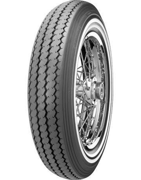 "SHINKO Oldschool double whitewall TYRE E-240 DW, MT 90 - 16"", 74 H, TT"