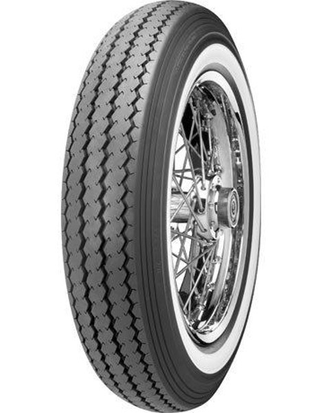 "SHINKO Oldschool whitewall TYRE E-240 WW, MT 90 - 16"", 74 H, TT"