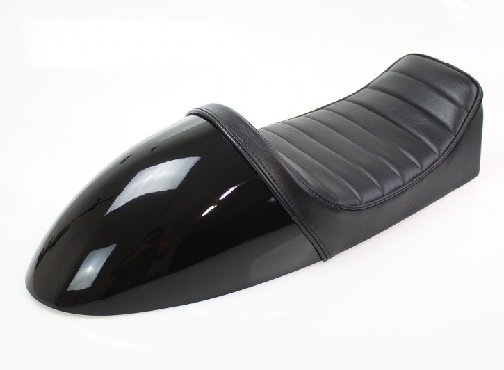2nd choice: Cafe-Racer SEAT black, fits BMW-Rear Frames HR-CM and HR-CD