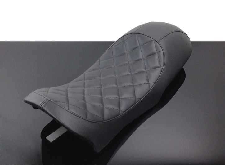 SEAT BMW K75 K100 Cafe-Racer, Diamond-Pattern, black