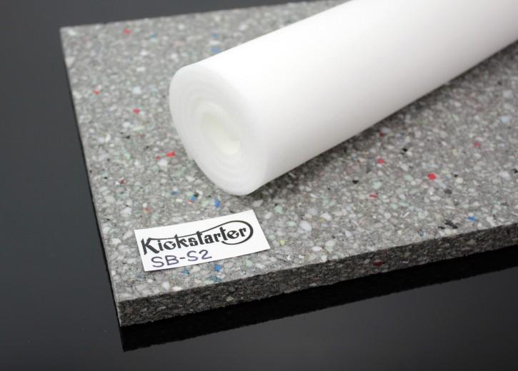 Seat contruction FOAM block / mat, high density, 2cm + foam sheet for egalization
