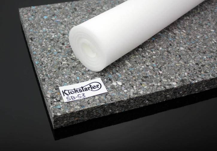 SITZBANK Schaumstoff-Matte 3cm + Kaschierschaum