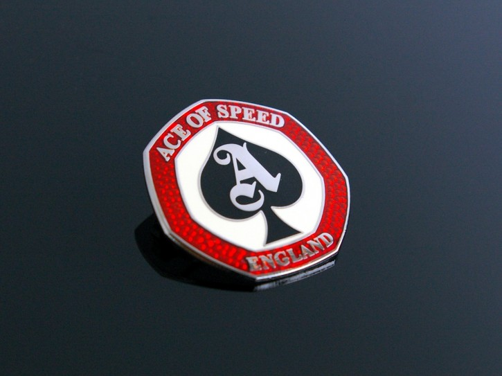 """ACE of SPEED"" Cafe Racer Anstecker / Pin / Badge"