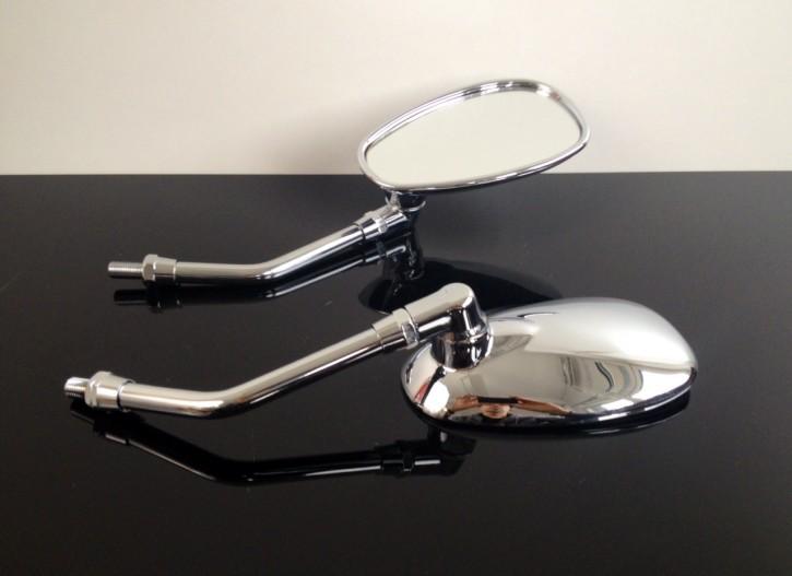 2  Mirrors (retroviseurs) YAMAHA, ROYAL ENFIELD