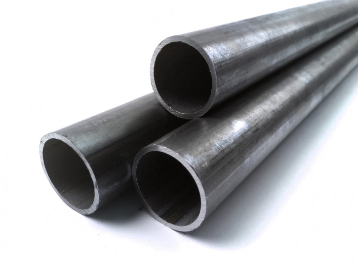 CONSTRUCTION TUBE untreated steel 25x2x1000mm
