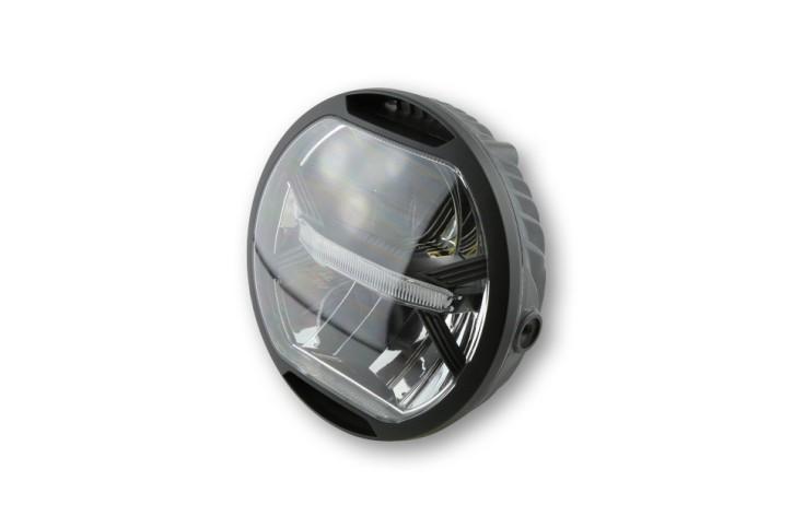 LED-SCHEINWERFER mit Standlicht, schwarz