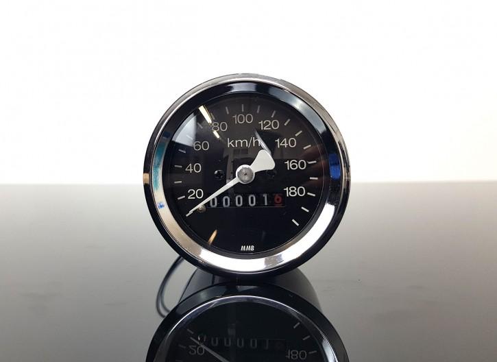 B-Ware: Mini-Tacho für BMW, 60mm, CHROM, R 65 80 100 RT RS /5 /6 /7