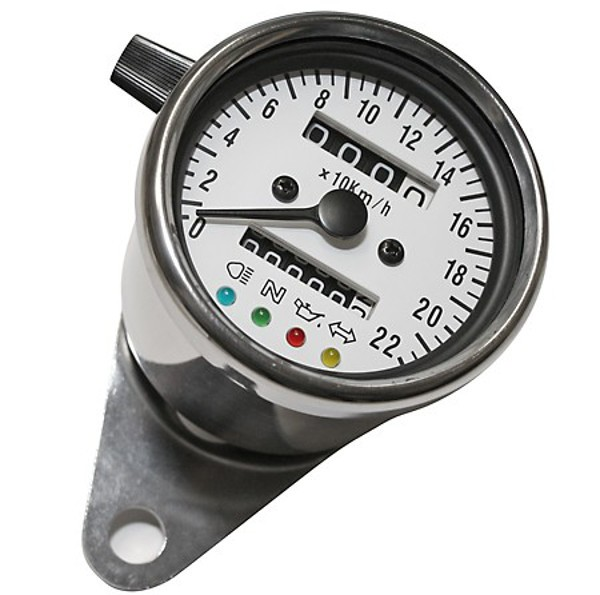 SPEEDOMETER Speedo, 60mm for VINTAGE bikes (K=1.0)
