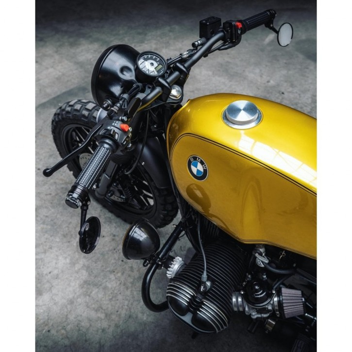 TANKDECKEL aus Aluminium für BMW 2-Ventiler R45 R60 R75 R80 90S R90 100R R100