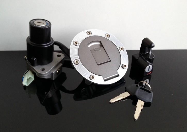 SCHLÖSSER-SATZ inkl.TANKDECKEL f. Yamaha SRX 600,YZF-R1,TRX 850,...