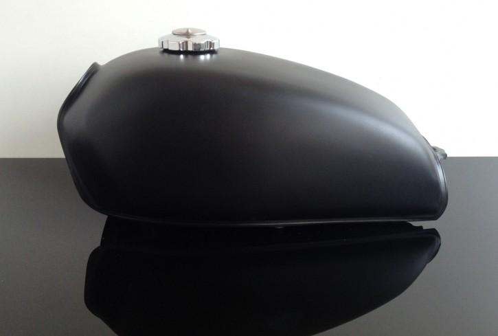 2nd choice: Small gastank, universal steel black denim