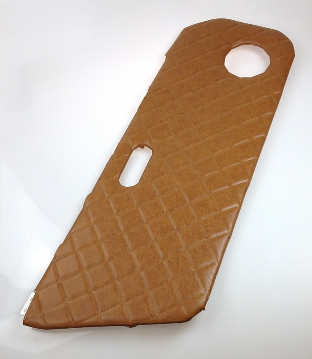 2 Quilted Door Cards for Mazda MX-5, brown