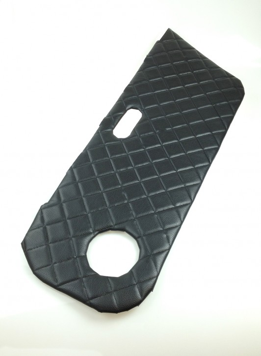 2 Quilted Door Cards for Mazda MX-5, black