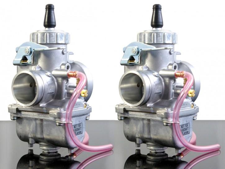 2x MIKUNI VM36 für Yamaha XS 650 Rennvergaser
