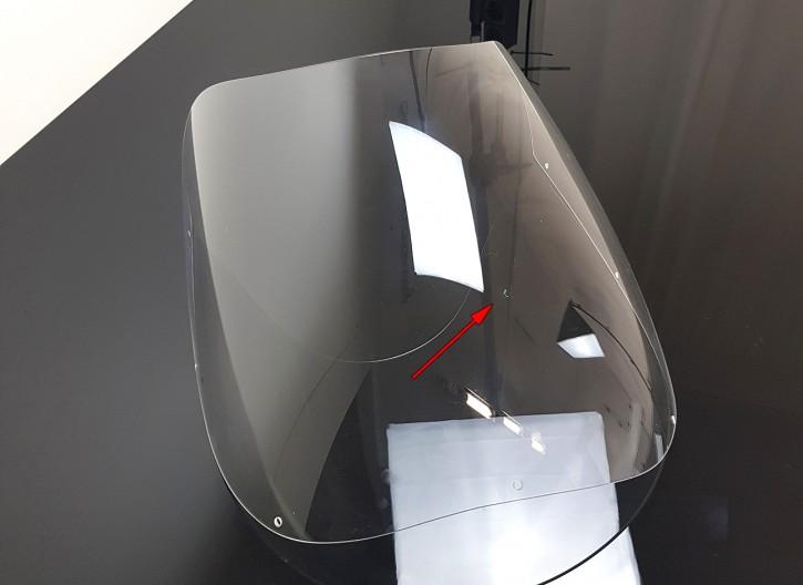 2nd choice: Half fairing-screen, clear, for DUCATI 750 900 SS