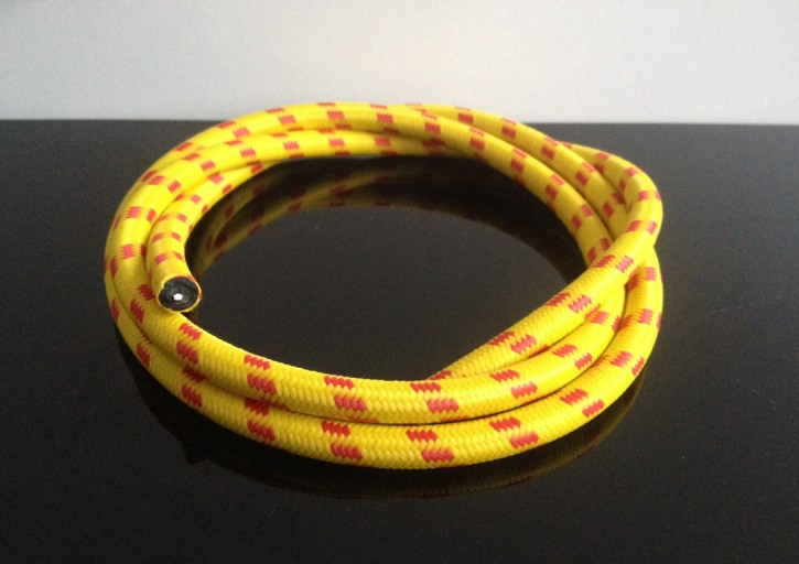 Retro cable, yellow