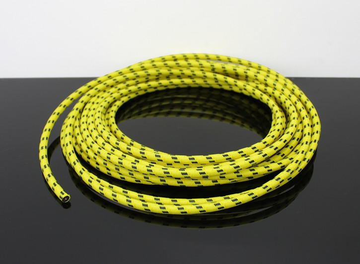Retro cable, yellow/black