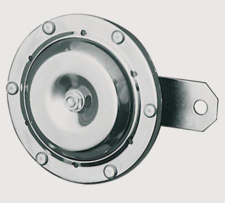- Kein Hersteller - Chrome horn, 12 V, 100 mm