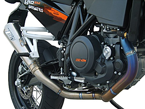 ZARD Complete system KTM 690 SM, stainless steel, + cat.