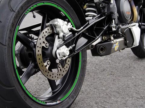 - Kein Hersteller - Rim sticker green, GP style