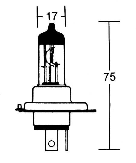 - Kein Hersteller - HS1 bulb 12V 35/35W PX43t