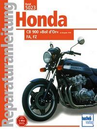 Motorbuch Bd. 5023 Reparatur-Anleitung HONDA CB 900 Bol d Or, FA, FZ (ab1978)