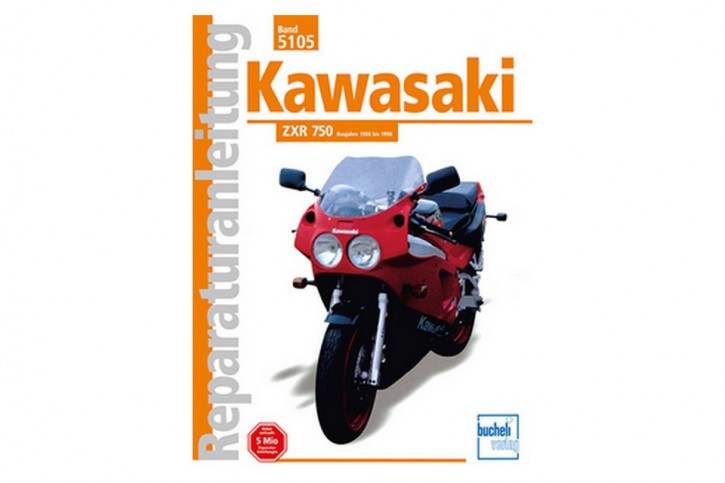 Motorbuch Engine book Repair instructions edition 5105 for KAWASAKI