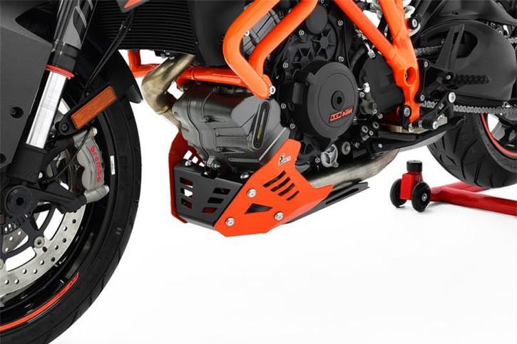 IBEX Engine guard KTM 1290 Super Duke GT, black/orange