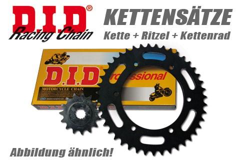 DID Kette und ESJOT Räder DID chain and ESJOT sprocket VX2 chain kit MuZ 660 Baghira, 98-06
