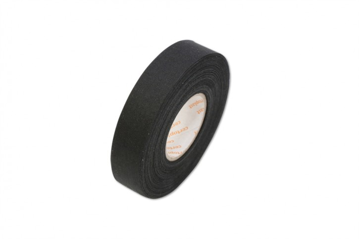 Jean insulating tape 19mm, 25 m, black for wiring harness