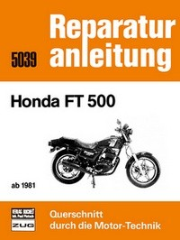 Motorbuch Engine book No. 5039 repair instruction HONDA FT 500