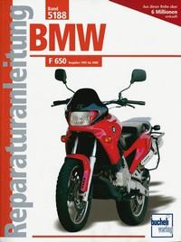 Motorbuch Bd. 5188 Reparatur-Anleitung BMW F650, 93-