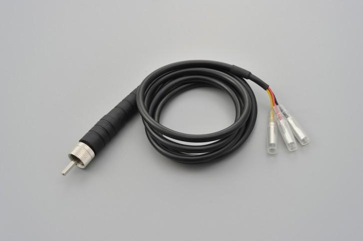 DAYTONA Speed pulse converter M12, thread female, e.g. for VELONA speedometers.