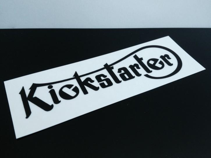 Transfer KICKSTARTER, Vintage Style