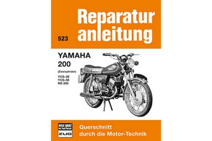 Motorbuch Engine book Bd. 523 Repair manual YAMAHA RD 200