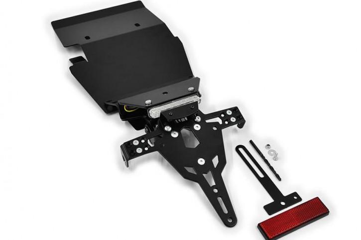 IBEX-Pro License plate holder TRIUMPH Thruxton 900, Bonneville, Scrambler