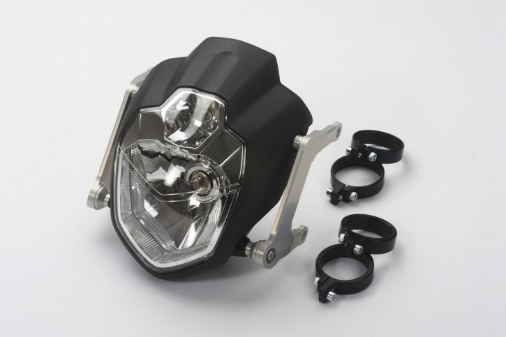 Urban Headlight-Kit 39 mm, black