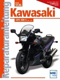 Motorbuch Bd. 5136 Reparatur-Anleitung KAWASAKI GPZ 500 S (ab 1986)