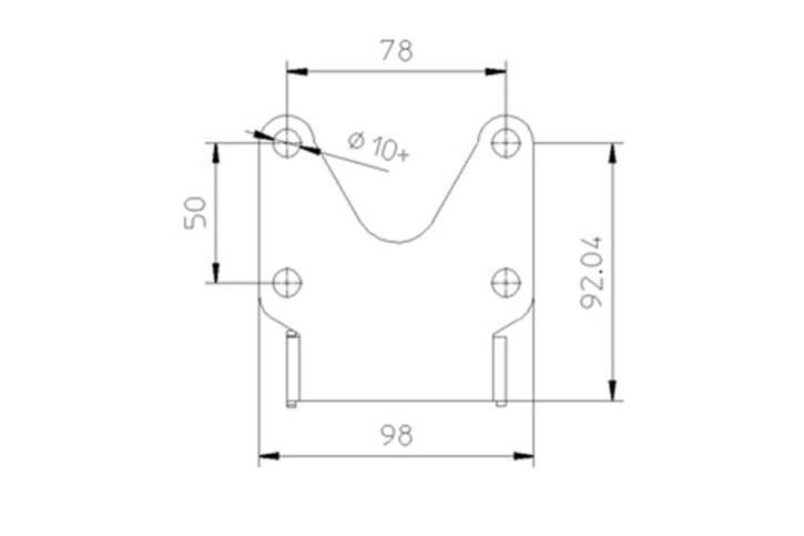 IBEX-Pro Kennzeichenhalter Universal Typ 1