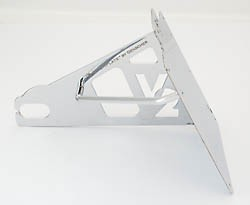 Genscher Bracket for license plate, 180mm,side mount, H-D V-Rod -04