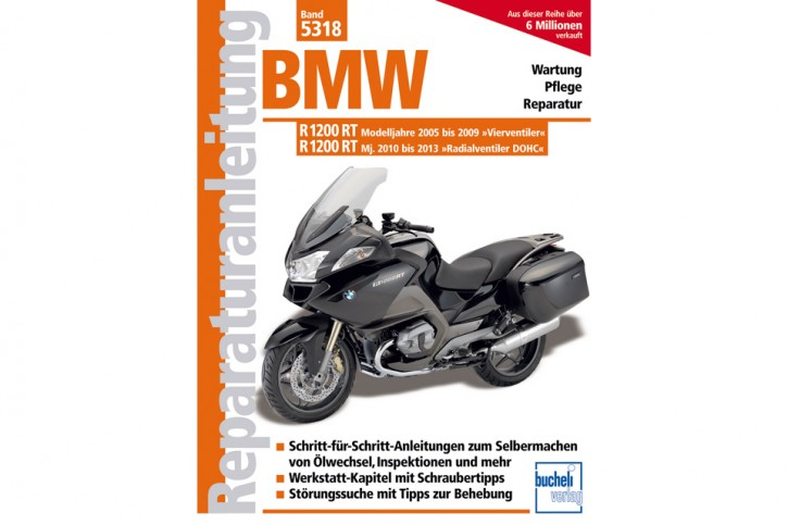 Motorbuch Engine book Repair instructions BMW R 1200 RT 2005-2013, German edition