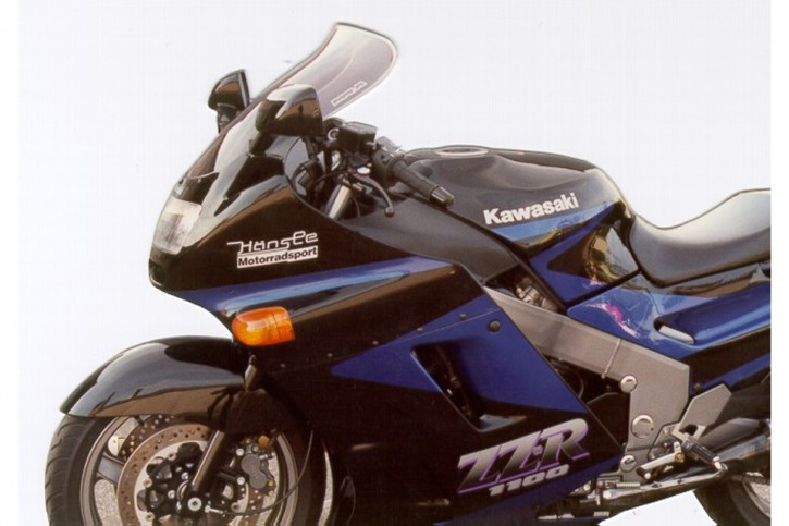 MRA Touring Shield, KAWASAKI ZZR 1100, -92, smoke