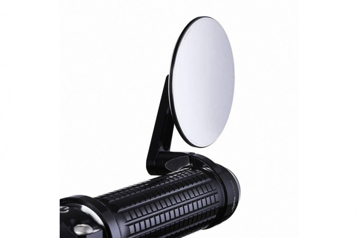 M.view spy, glass-free rearview mirror for handlebar ends by MOTOGADGET